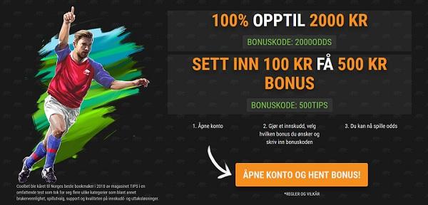 Topp 3 Norske bettingsider 2019