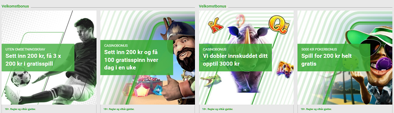 Beste bettingsider i Norge 2021