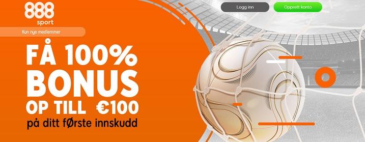 888sport med 1000 kr online spillbonus